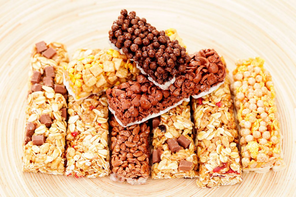 Barras de cereal, un snack que se quiere comer el mercado