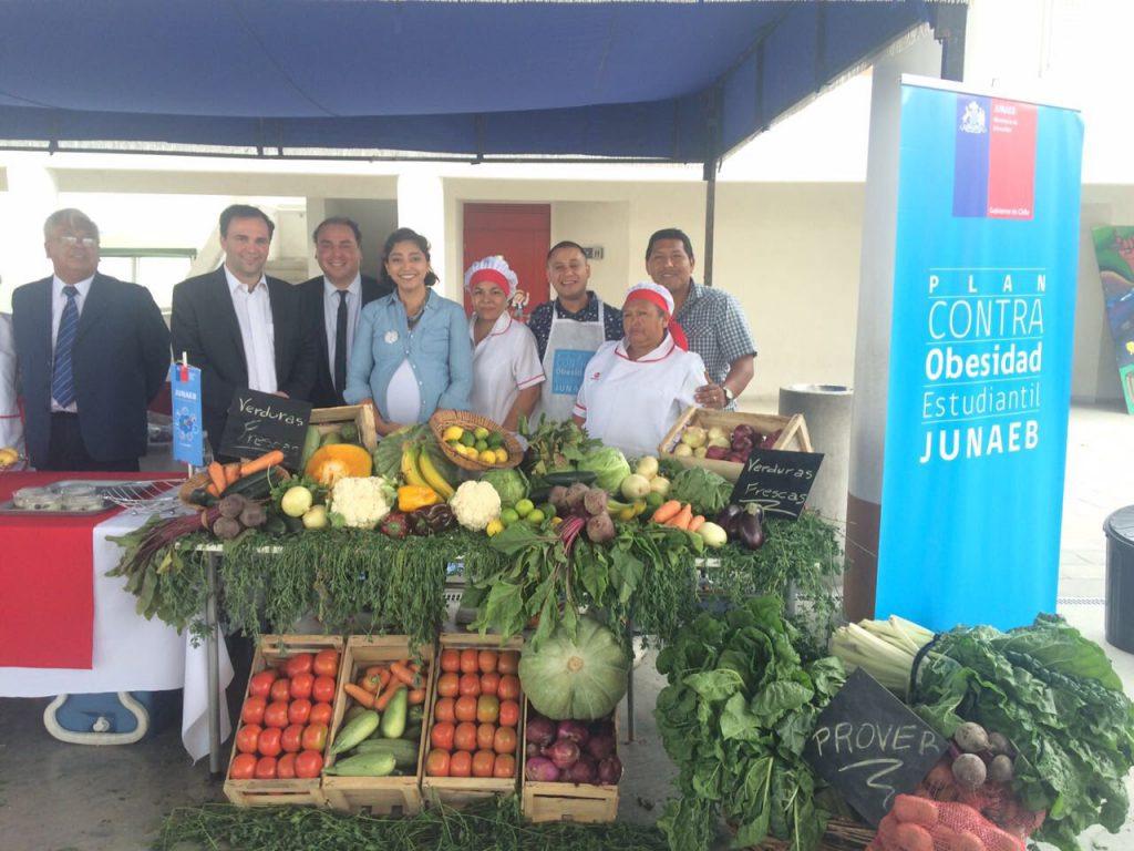 Junaeb lanza sitio para conocer el menú diario de alumnos