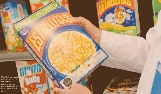 Etiquetado: Minsal impulsa nuevo reglamento para fijar normas de publicidad a menores de 14 años