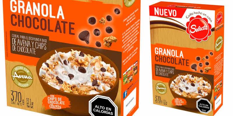 Selecta presenta un nutritivo cereal