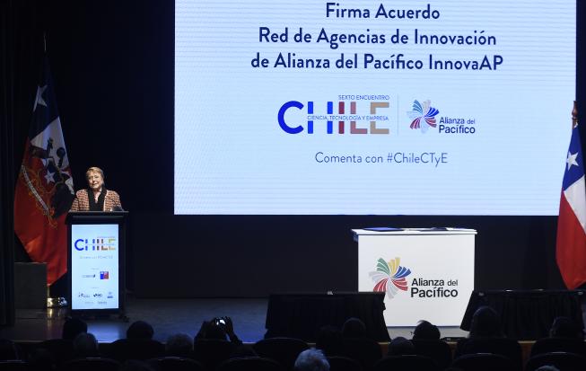 Participación en Sexto Encuentro Chile: Ciencia, Tecnología y Empresa