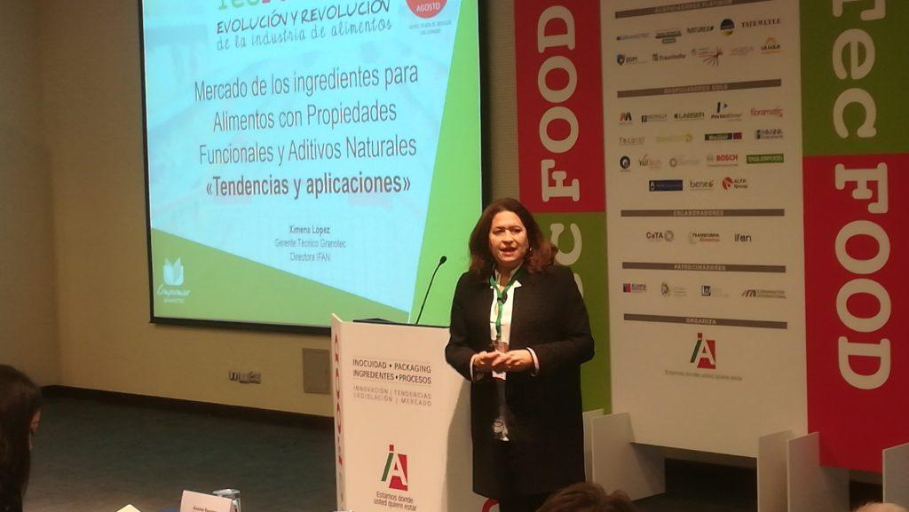 Destacada participación de Consorcio Tecnológico IFAN en Seminario Internacional TecFood