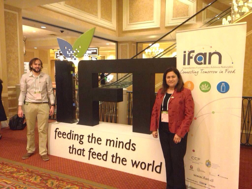 Representación de IFAN en el IFT: Institute of Food Technologists