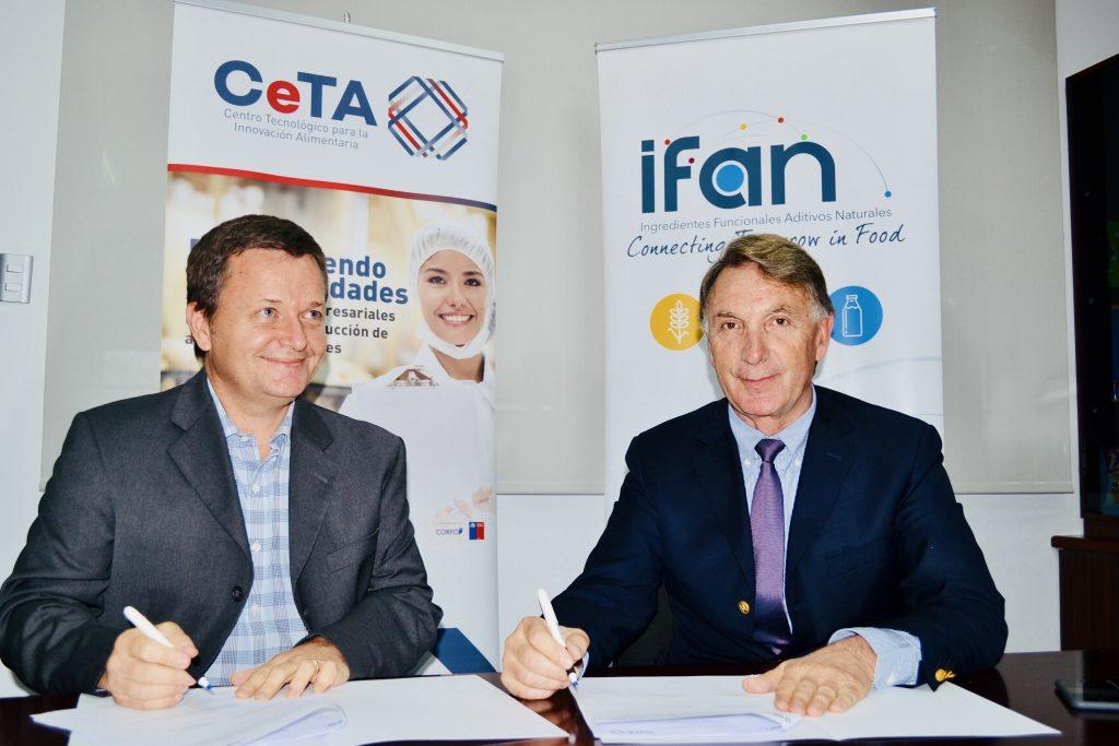 Firma de Acuerdo de colaboración entre IFAN y CeTA