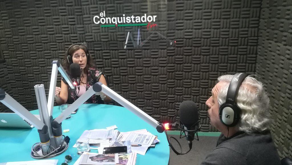 Escucha entrevista a María Angélica Fellenberg en Radio El Conquistador